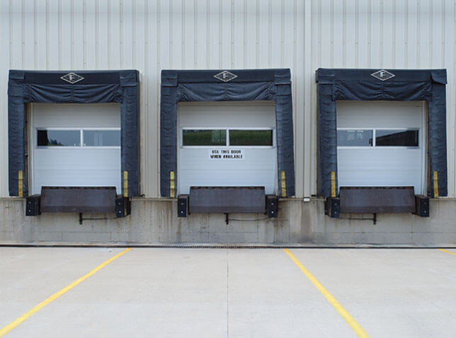 3 Commercial doors doors With Dock