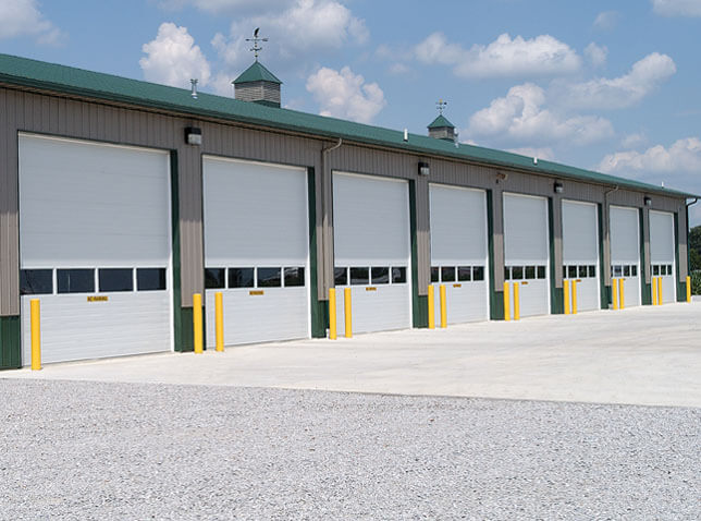 8 Commercial doors