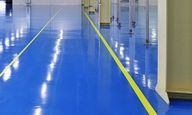 Performance floor coatings